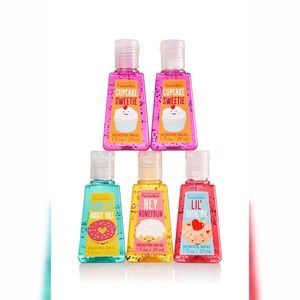 Bath & Body Works 4pc Pocketbac Hand Sanitizers